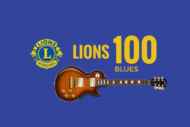 Marketanpuistossa tapahtuu: lions club lions 100 blues tapahtuma
